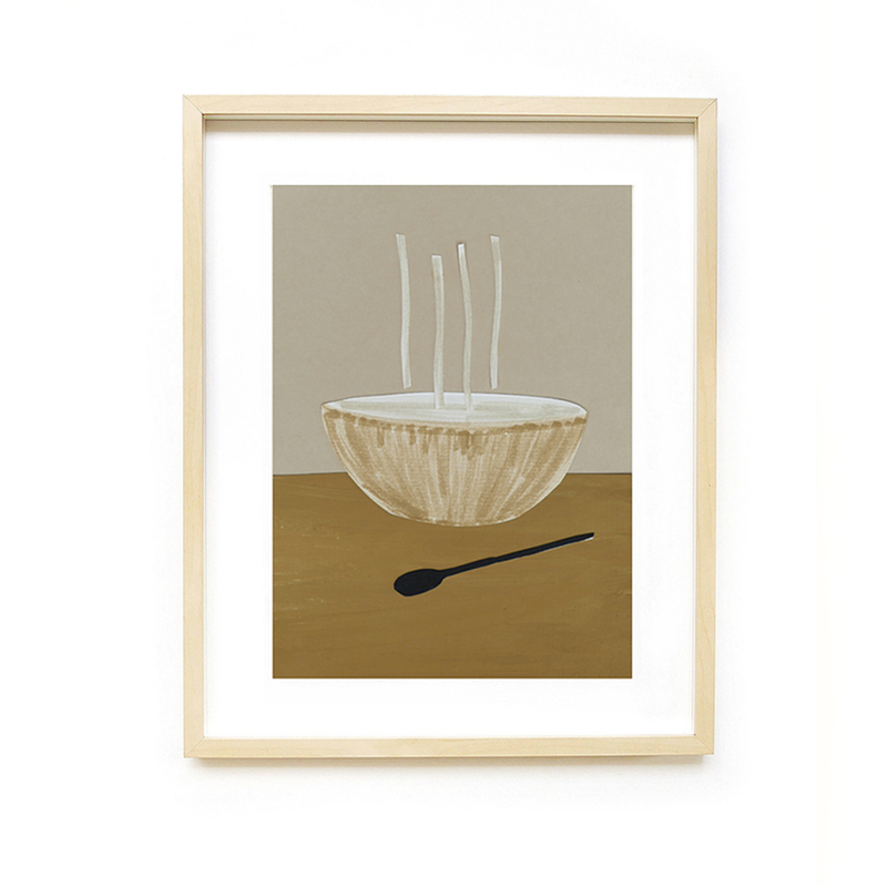 *NIEUW* Poster A4 Soup - Ted & Tone