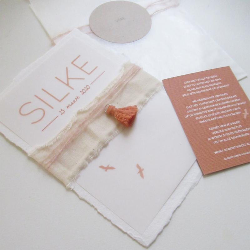 Geboortekaart Silke