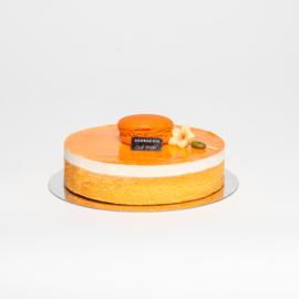 Sinaasappel dessert taartje