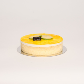 Citroen dessert taartje