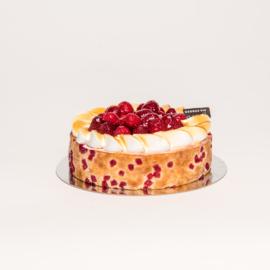 Aardbei Merengue dessert taartje