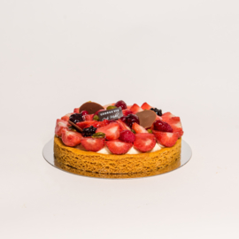 Rood fruit tartelet