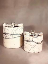 Decoratieve design asbak - klein