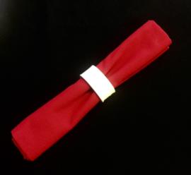 Katoen Servet- rood - set 4 stuks