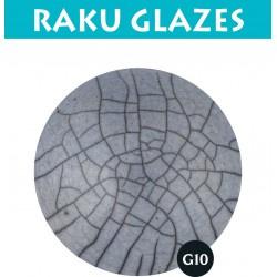 Lichtblauw G10 0,5ltr raku glazuur
