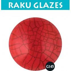Intensief rood G145 0,5ltr raku glazuur