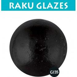 Zwart G135 0,5ltr raku glazuur