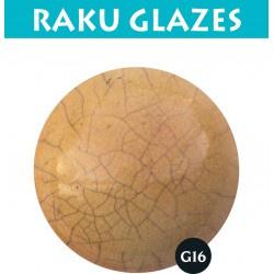 Geelbruin G16 0,5ltr raku glazuur