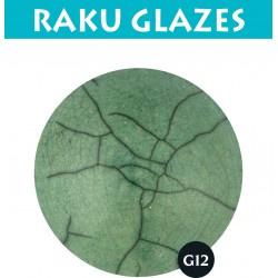 Lichtgroen G12 0,5ltr raku glazuur