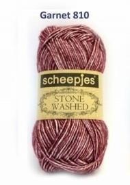 Scheepjes Stone Washed Garnet 810