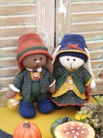 Haakpakket Funny Bunny set Anna & Jacob