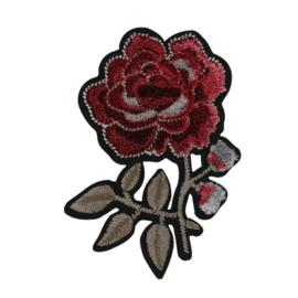 HKM Applicatie roos met twee knoppen