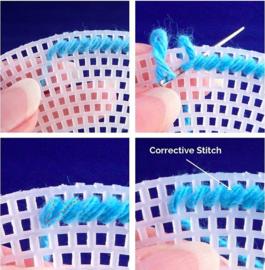 Voorbeeld stramien borduren