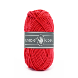 0316 Durable Cosy Red 50gr.