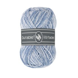 0289 Durable Cosy fine Faded Blue Grey