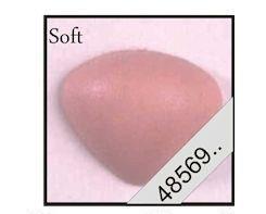 driehoeks-veiligheids neus 12 mm soft rose