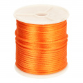 693 Satijnkoord 3mm Orange per 1 mtr