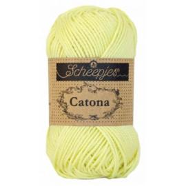 100 Catona  Lemon Chiffon