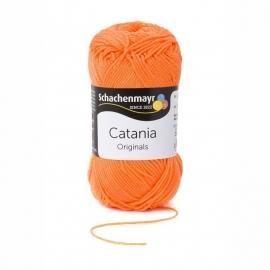 Catania haak/brei katoen kleur: Pink Coral 386