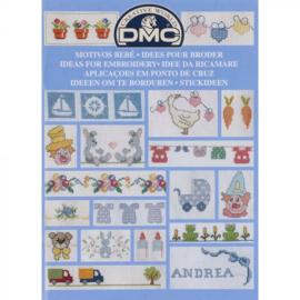12914-22 DMC Boek ideeën om te borduren