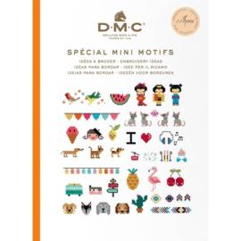 DMC Boek ideeën om te borduren mini patronen