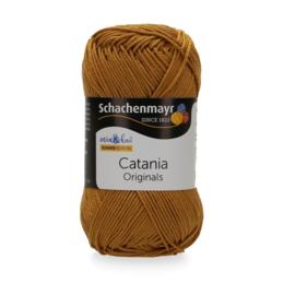 Catania haak/brei katoen kleur: Curry 431
