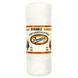 Durable Breikatoen nr.10 100gr. kleur 009 wit