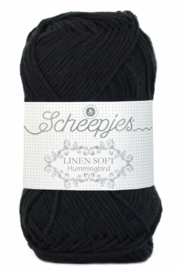 Scheepjes Linen Soft 632 Zwart