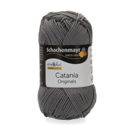 Catania haak/brei katoen kleur: Rachgrau 435