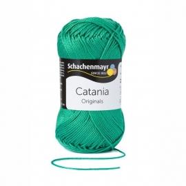 241 Catania haak/brei katoen kleur: Golfgroen  241