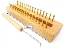 Knitting loom hout rechthoekig