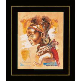 Lanarte Afrikaanse Vrouw