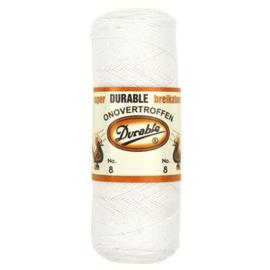 Durable Breikatoen nr.8 100gr. kleur 009 wit