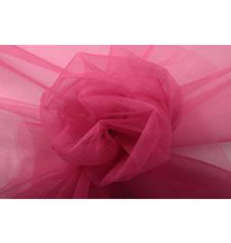 Tule -150cm breed (20 meter op rol)  Fluorescent Rose