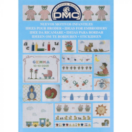 14226-22 DMC Boek ideeën om te borduren