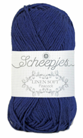 Scheepjes Linen Soft 611 Cobaltblauw