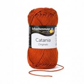 388 Catania haak/brei katoen kleur:  Terracotta bruin 388