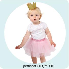 Patroon Petticoat maat 80 t/m 110