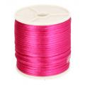 786 Satijnkoord 3mm Roze per 1 mtr