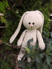 XXL Funny Bunny Basic staand Big Nose linen