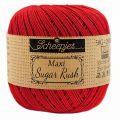 Scheepjes Maxi Sugar Rush 10x50 gr - 722 Red