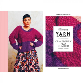 YARN The After Party nr.122 Cranberry Fizz Jumper
