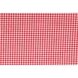 97495-01 - Tissu de Marie Stof ruiten 1.50 breed x 1 meter