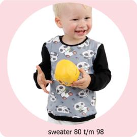 Patroon Sweater maat 80 t/m 98