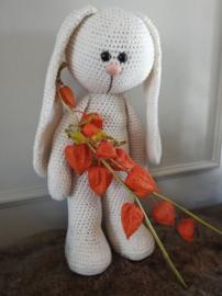 XXL Funny Bunny Basic staand Big Nose ivoor