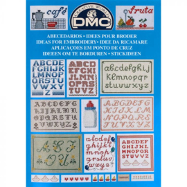 14098-22 DMC Boek ideeën om te borduren