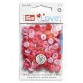 Prym Love drukknopen 9mm rood