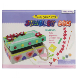DIY-pakket voor kinderen sieradendoos
