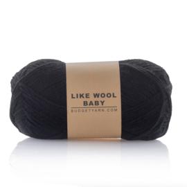 Like Wool Baby 100 Kleur: Black