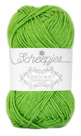 Scheepjes Linen Soft 627 Licht groen